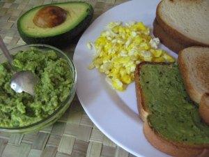 pasta de avocado