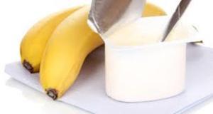 banane cu iaurt